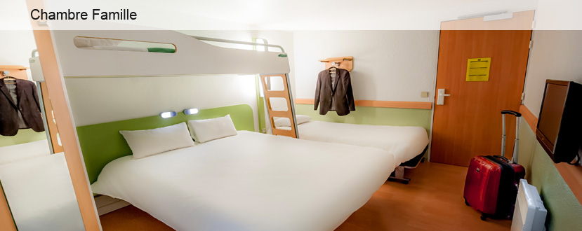 4 hotel vannes chambre famille